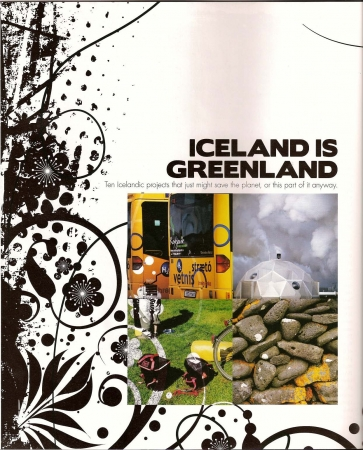 Iceland Review - Iceland is Greenland