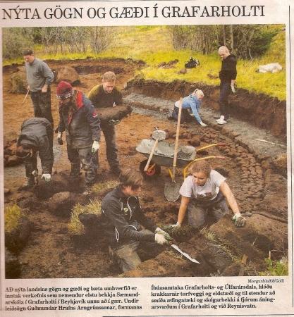 Morgunblaðið - Nýta gögn og gæði í Grafarholti
