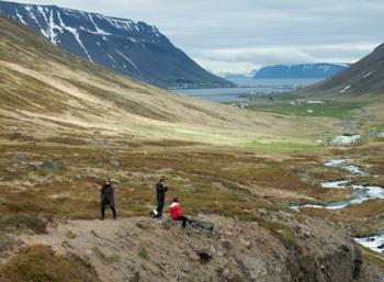 Bjarnarfjörður in the West fjords