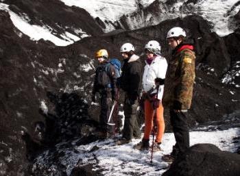 Hiking trails near Katla volcano