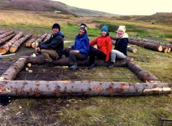 Forestry in the Westfjords