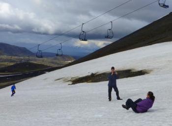 Hitting the slopes - Blue Mountains (1:2)