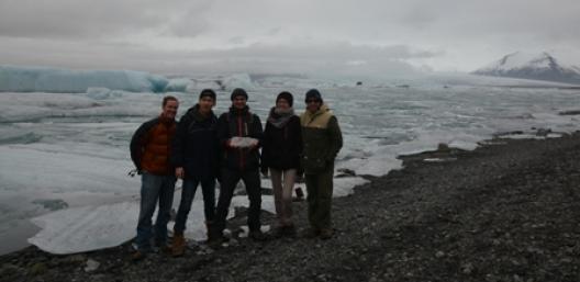 Between glaciers & lava!