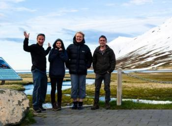 Spring in Eyjafjörður - The longest fjord