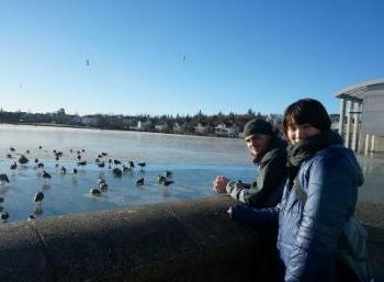 Environmentally aware: in Reykjavík (Teenage Camp)