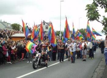 Photography & Gay Pride in Reykjavík