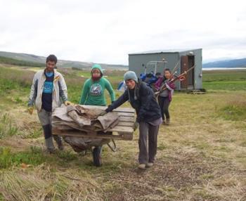 Skriðuklaustur - Making history