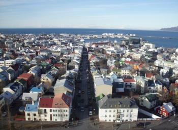 Easter Environmentally aware: in Reykjavík