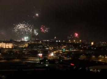 New Year's Environmentally aware in Reykjavik