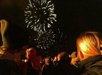 New Year Environmentally Aware: in Reykjavík