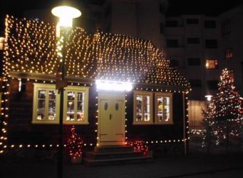 Environmental Christmas in Reykjavík