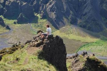 Nature reserve of Þórsmörk - hiking trails (1)