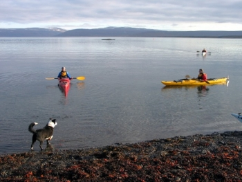 MTV Project. Boat training in the Northern fjords