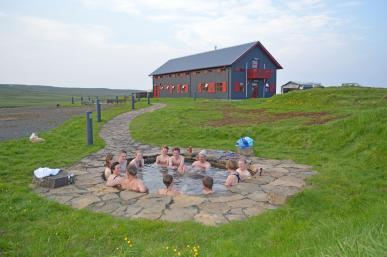 Hot springs in the Highlands