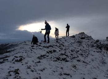 Environmental New year's in Reykjavík