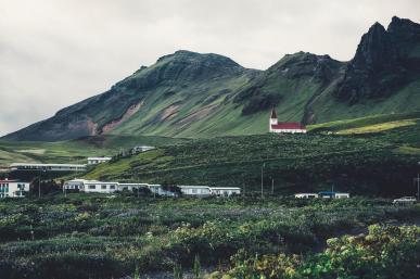 Trails near Hekla Volcano & Mýrdalsjökull glacier