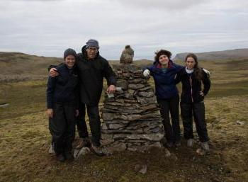 Cairn Restoration in the Westfjords - Látrabjarg