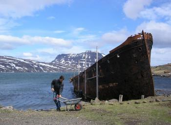 Remote fjords - Where the road ends!
